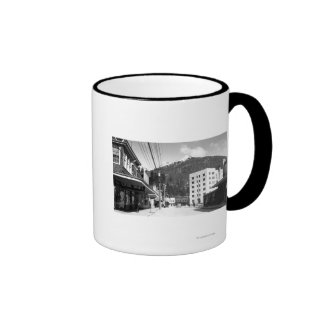 Mission Street in the center of Ketchikan Coffee Mug