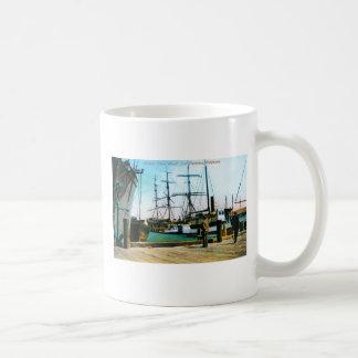 Mission Street Wharf Basic White Mug