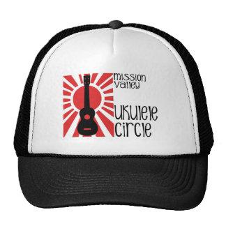 Mission Valley Ukulele Circle Mesh Hat
