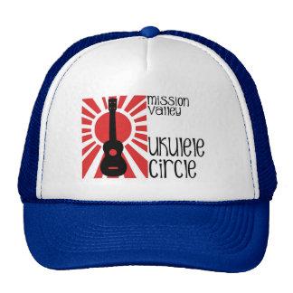 Mission Valley Ukulele Circle Hat