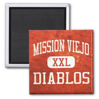 Mission Viejo Diablos Athletics Fridge Magnet