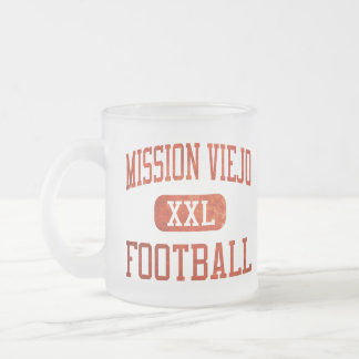 Mission Viejo Diablos Football 10 Oz Frosted Glass Coffee Mug