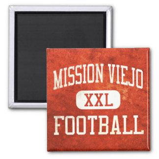 Mission Viejo Diablos Football Square Magnet