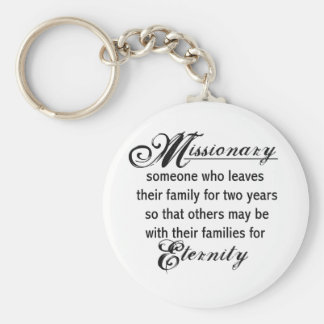 Missionary Eternity Key Ring