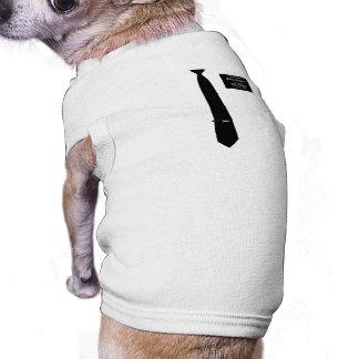 Missionary Romney Costume Sleeveless Dog Shirt
