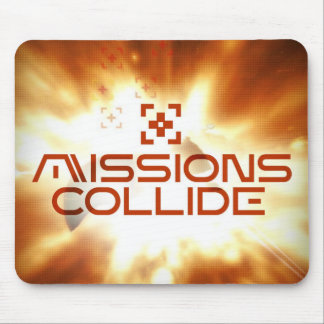 Missions Collide Cover Art Mouse pad