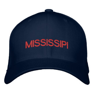Mississipi Cap Embroidered Hat