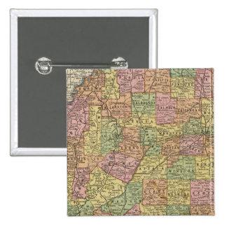 Mississippi 10 15 cm square badge