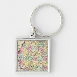 Mississippi 10 key ring
