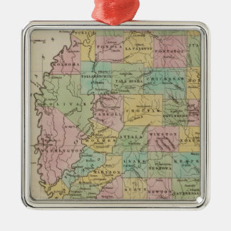 Mississippi 11 christmas ornament