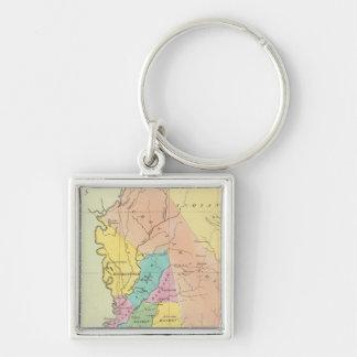 Mississippi 11 key ring