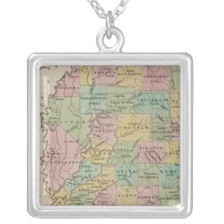 Mississippi 11 silver plated necklace