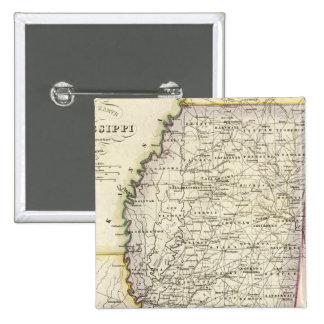 Mississippi 12 15 cm square badge