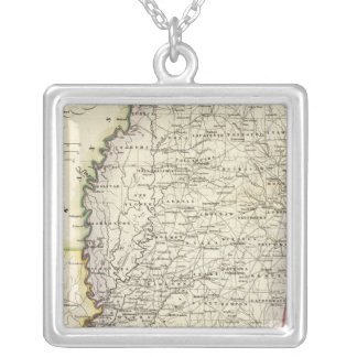 Mississippi 12 silver plated necklace
