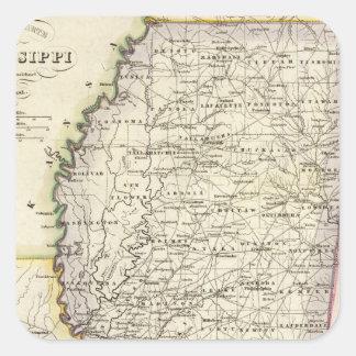Mississippi 12 square sticker