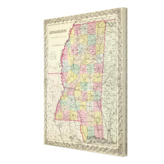 Mississippi 2 canvas print