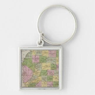 Mississippi 2 key ring