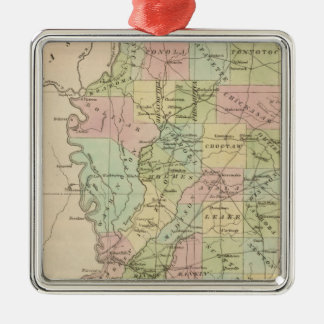 Mississippi 3 christmas ornament