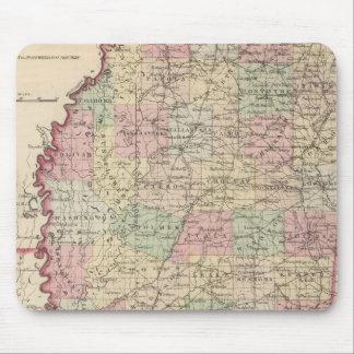 Mississippi 3 mouse mat