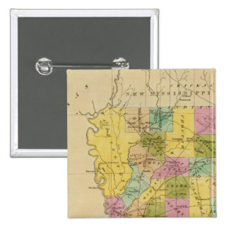 Mississippi 4 15 cm square badge