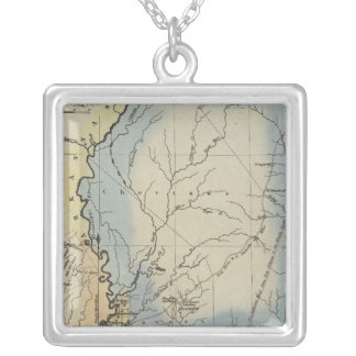 Mississippi 4 silver plated necklace