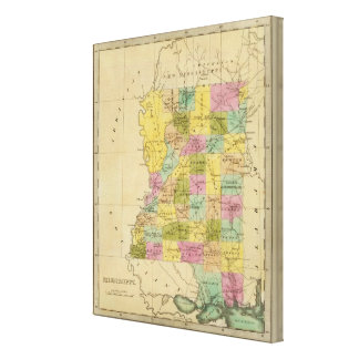 Mississippi 5 canvas print