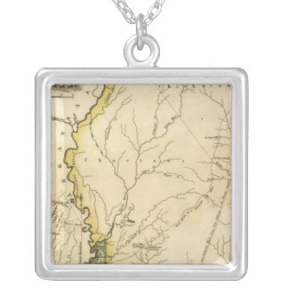 Mississippi 5 silver plated necklace
