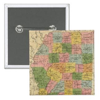 Mississippi 6 15 cm square badge