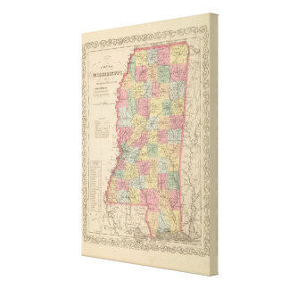 Mississippi 6 canvas print