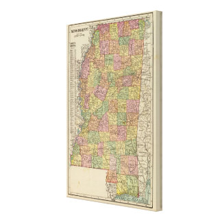 Mississippi 8 canvas print