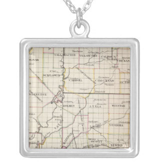 Mississippi 8 silver plated necklace