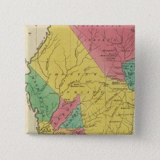 Mississippi 9 15 cm square badge