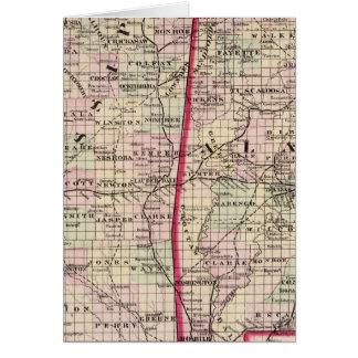 Mississippi and Alabama Card