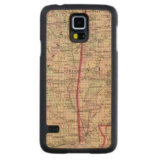 Mississippi and Alabama Carved Maple Galaxy S5 Case
