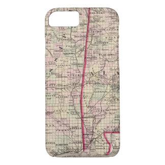 Mississippi and Alabama iPhone 8/7 Case