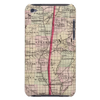 Mississippi and Alabama iPod Touch Case-Mate Case