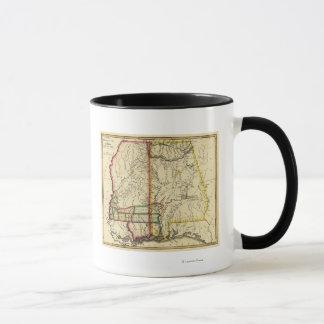 Mississippi and AlabamaPanoramic Map Mug