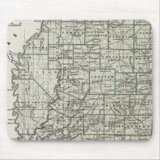 Mississippi Atlas Map Mouse Mat