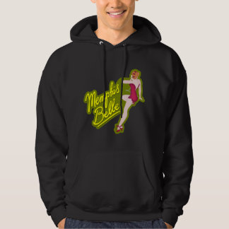 Mississippi Belle WWII Nose Art Hoodie