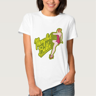 Mississippi Belle WWII Nose Art Tees