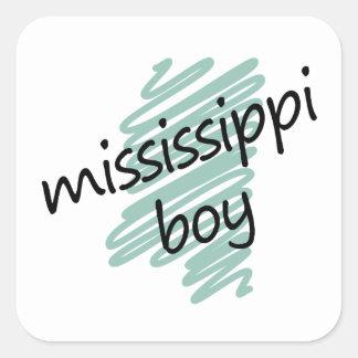 Mississippi Boy on Child s Mississippi Map Sticker