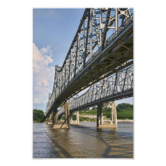Mississippi Bridge at Natchez Photo Print