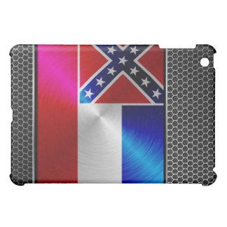 Mississippi brushed metal flag iPad mini covers