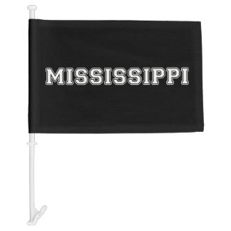 Mississippi Car Flag