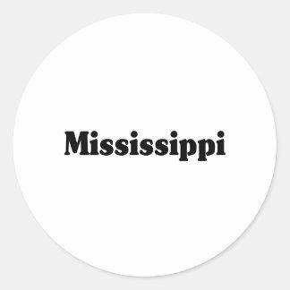 Mississippi Classic Classic Round Sticker