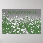 Mississippi Cotton Poster