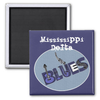 Mississippi Delta Blues Magnet