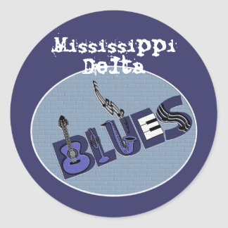 Mississippi Delta Blues Sticker