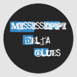 Mississippi Delta Blues Sticker