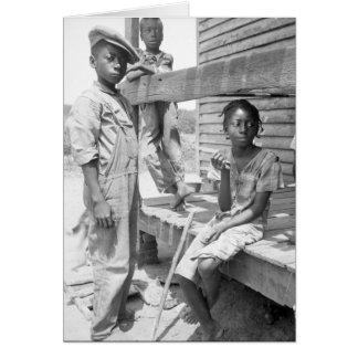 Mississippi Delta Children Greeting Card